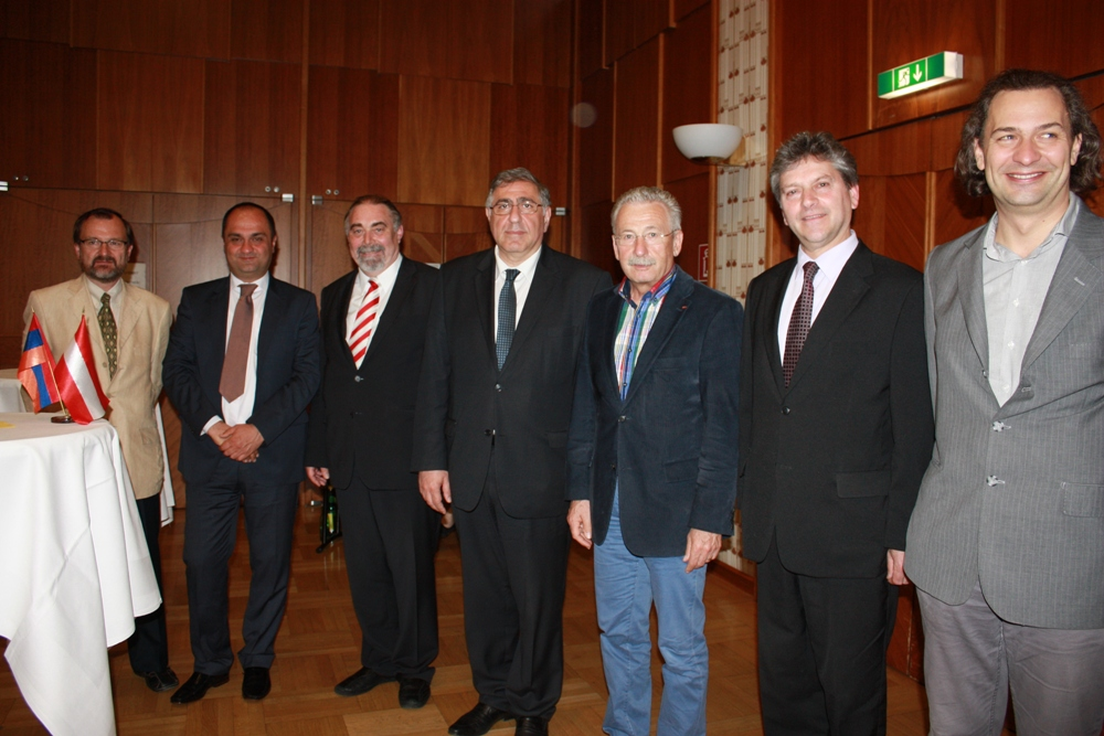 353.Event in Vienna dedicated to the Austrian Medical Center in Gyumri 22.05.2013